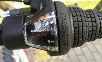 自転車ギア6速