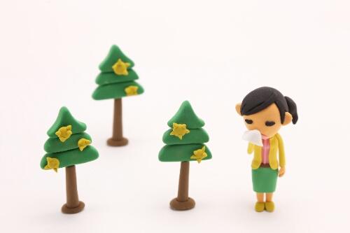 朝礼ネタ花粉症