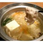 福岡グルメ パルコの「三匹の黒豚」でお腹いっぱい豚しゃぶランチ!