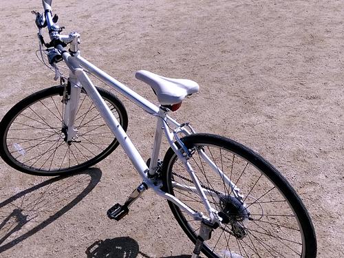 付ける前自転車
